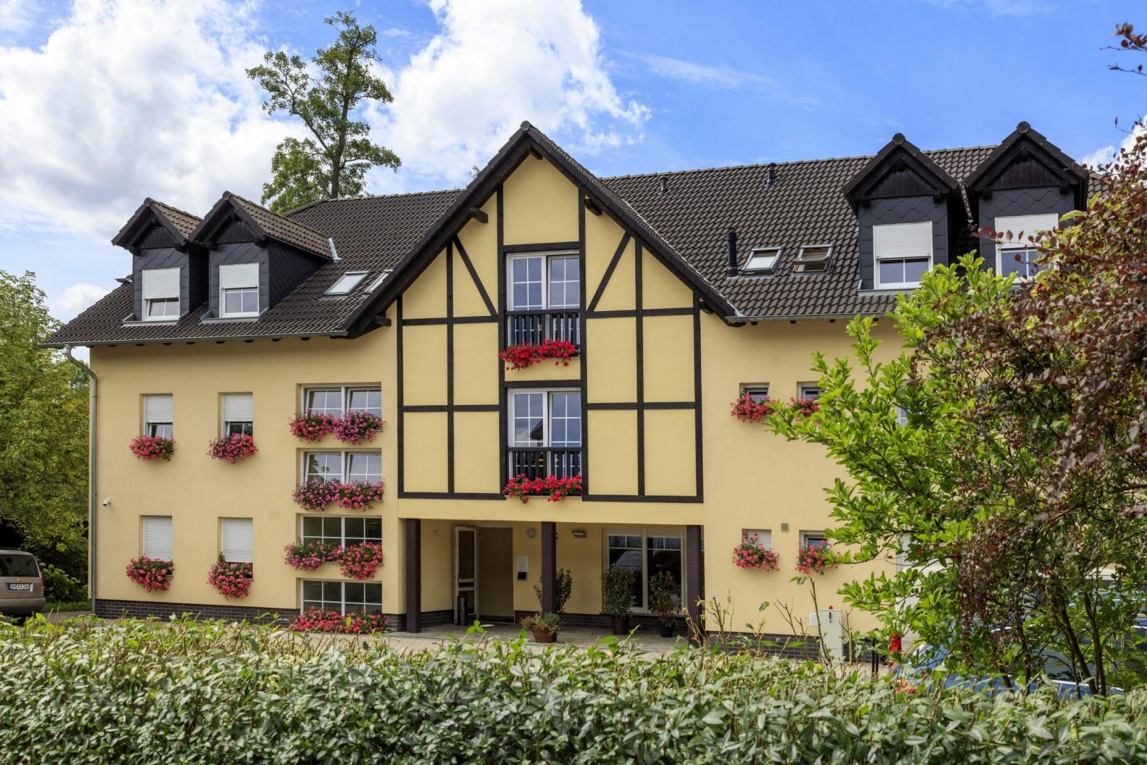 Außenansicht der Parkpension Burg Spreewald